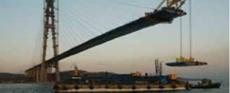 俄罗斯岛大桥起重机减速机应用