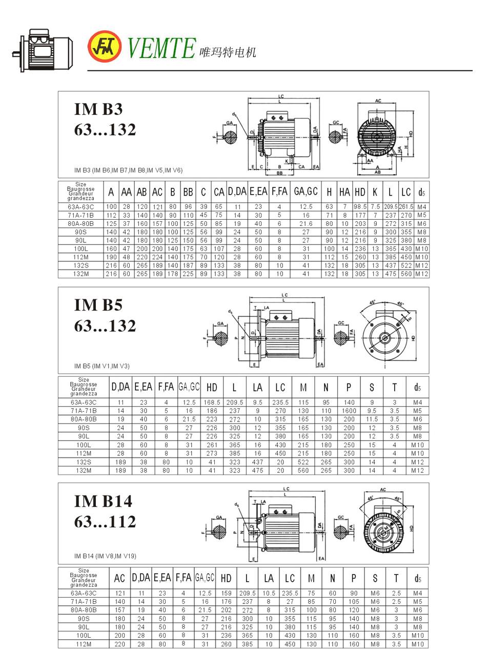 IM B3-B5-B14