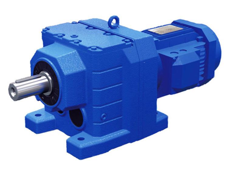 r系列斜齿轮减速器 硬齿轮减速机 同轴减速机